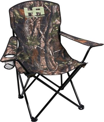 Picture of HQ Outfitters DS-2002AHA Folding Chair with Carry Bag Camo 19mm Frame