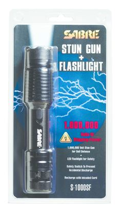 Picture of Sabre S-1000SF Stun Gun & Flashlight STATE LAWS APPLY