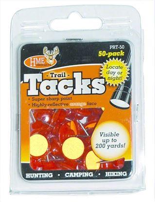 Picture of HME PRT-50 Reflective Trail Tacks Orange