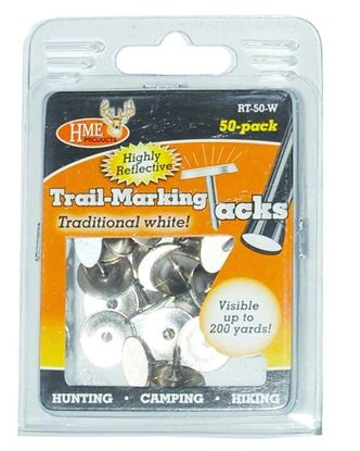 Picture of HME RT-50-W Reflective Tacks 50Pk White