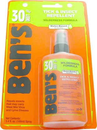 Picture of Ben's 0006-7187 Insect & Tick Repellent, 3.4 oz Pump Spray, 30% DEET