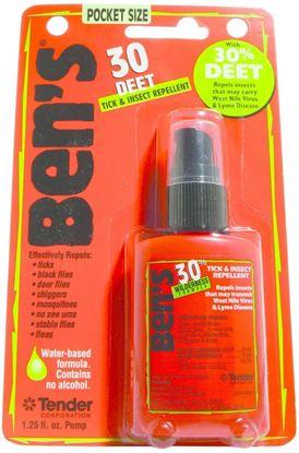 Picture of Ben's 0006-7190 Insect & Tick Repellent, 1.25oz Pump Spray, 30% DEET