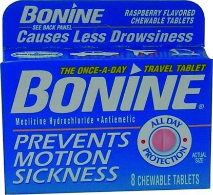 Picture of Bonine 029508 Seasick Tablets 24Ea/1Case
