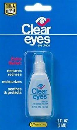 Picture of Clear Eyes 1760 Redness Refief Solution - .2 oz Bottle