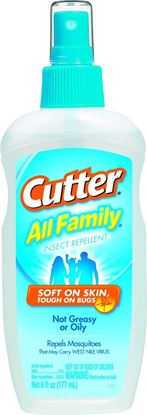Picture of Cutter HG-51070 All Family Insect Repellent 6oz Pump Spray, 7% DEET