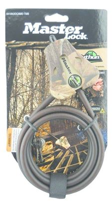 """Picture of Covert 2151 Master Lock Python Security Cable 6', 5/16"""" APG Camo"""