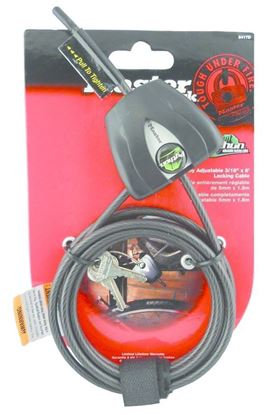 """Picture of Covert 2205 Master Lock Python Security Cable 6', 3/16"""" Black"""
