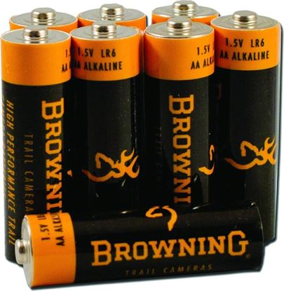 Picture of Browning BTC 8AA AA Alkaline Batteries